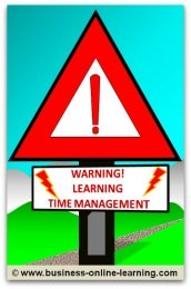 Time Management Warning Sign For Your Office Door