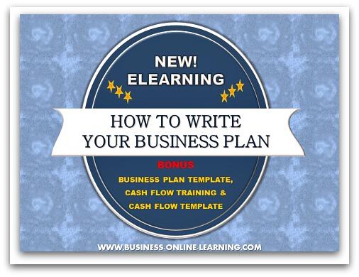 Business Plan Training Postcard