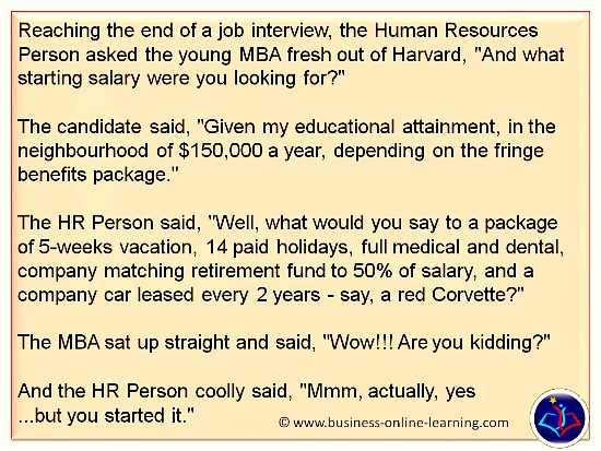 Business Humour Interview