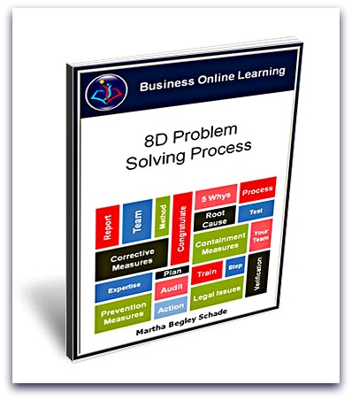 our Ebook on 8D Problem Solving Process