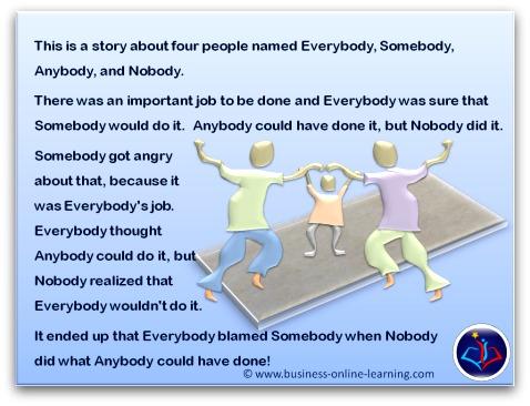 Everybody Nobody yet Somebody?