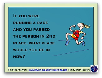 Funny Brain Teasers And Answers