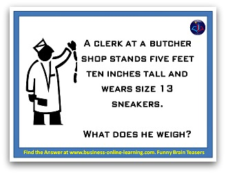 brain teasers and answers set 2 number 9