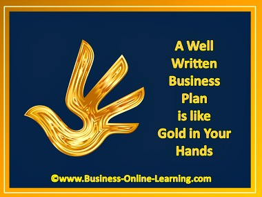 Business Plans Are Golden Opportunities