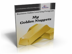 Business Online Learning Golden Nuggets