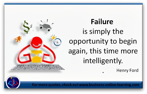 A Quote on Failure by Henry Ford
