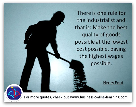 Henry Ford on the Industrialists