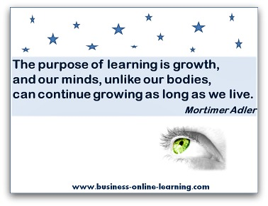 Quote on Learning By Mortimer Adler