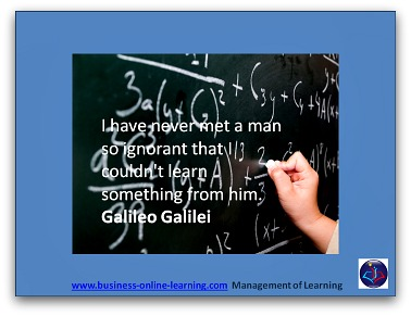 Learning Quote from Gallileo Gallilei