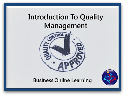 Quality Management Training Course