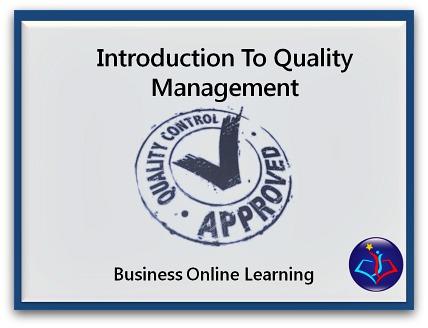 Quality Management Training Course