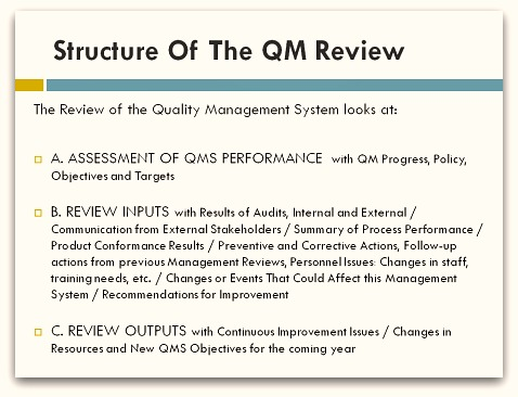 Quality management review quality management review template toneelgroepblik Image collections