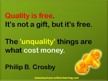 Quote By Crosby on Quality