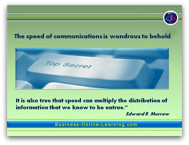 Communication Quote by Edward Murrow