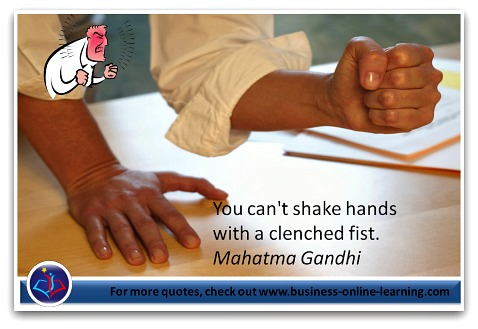 A beautiful Quote by Mahatma Gandhi.