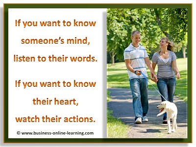 Understanding Minds and Words, Heart and Action.