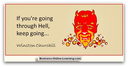 A Famous Quote from Winston Churchill