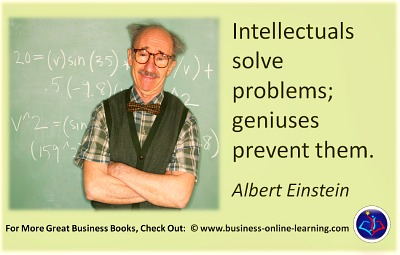 A Quote from Einstein on Problem solvers