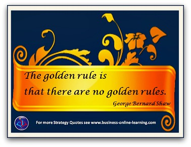 Golden Rule By GB Shaw