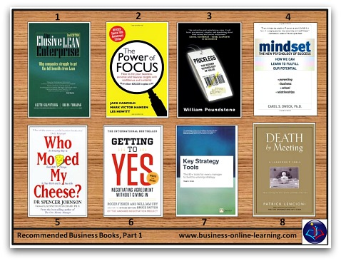 BusinessOnlineLearning Recommended Business Booklist