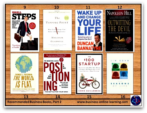 BusinessOnlineLearning Recommended Booklist Part 2