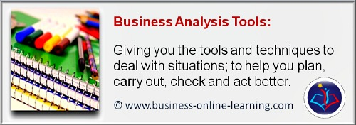 Our Section on Business Analysis Tools