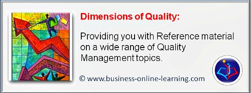 This section provides you with a range of articles on the various Dimensions of Quality