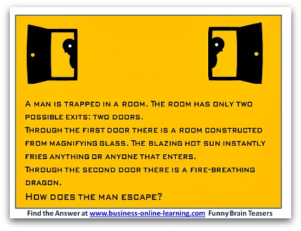 brain teasers and answers set 2 number 5