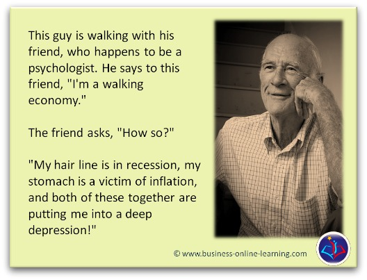 Business Humour Recession