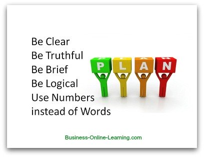 Business Plan Hints