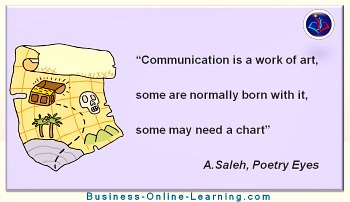 Business Online Learning Communication Quotes from A Saleh
