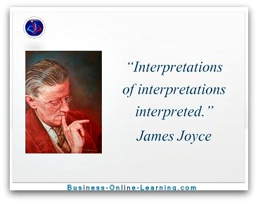 Communication Quote By James Joyce