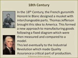 The History Of Quality