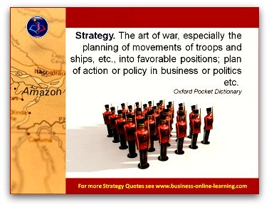 Taken from the Oxford Dictionary: the definition of Strategy.