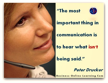 Great Quote on Communication by Peter Drucker