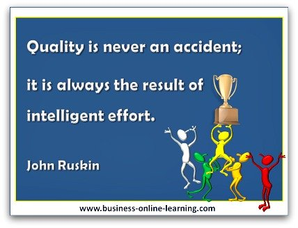 Quote By John Ruskin on Quality