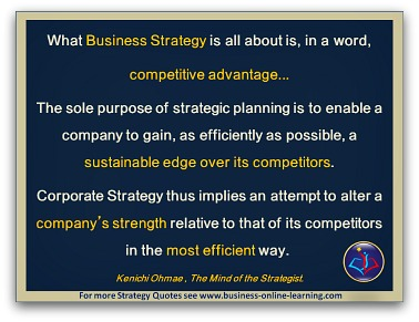 Strategy Quote By Kenichi Ohmae