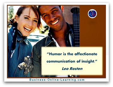 Communication Quote by Rosten and his view on Humour.