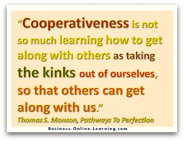 Quote on Communication with others by Monson
