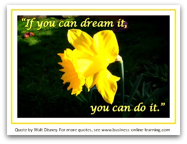 Walt Disney's Motivational Quote