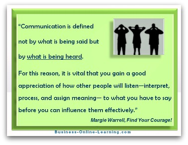 Communication Quote by Margie Warrell
