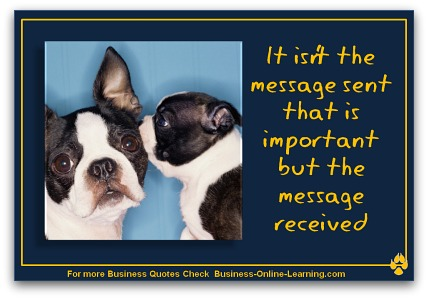 Quote on Message Sender and Receiver