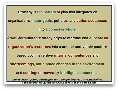 Strategy Quote by James Brian Quinn