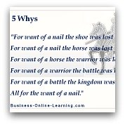 5 Whys Approach