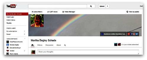 YouTube BusinessOfLearning